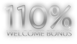 110% up to $110 Welcome Bonus