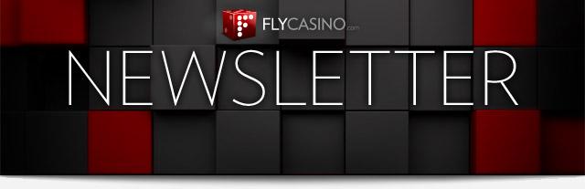 FlyCasino.com Newsletter
