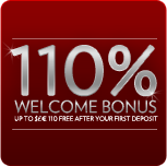 110% Welcome Bonus